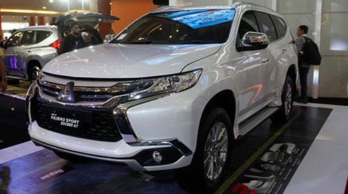 Desain bagian depan Mitsubishi Pajero Sport Exceed 4x2 AT 2018