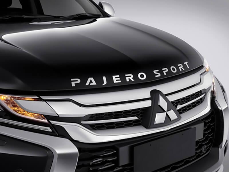 Mitsubishi Pajero Sport Rockford Fosgate-Premium Engine Hood Emblem