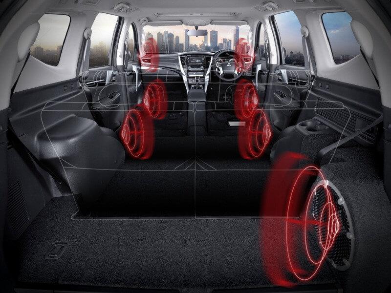 Mitsubishi Pajero Sport Rockford Fosgate-audio-system-5