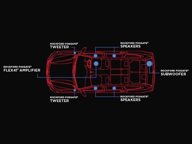 Mitsubishi Pajero Sport Rockford Fosgate-audio-system-6