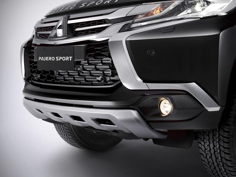 Mitsubishi Pajero Sport Rockford Fosgate-grill-depan
