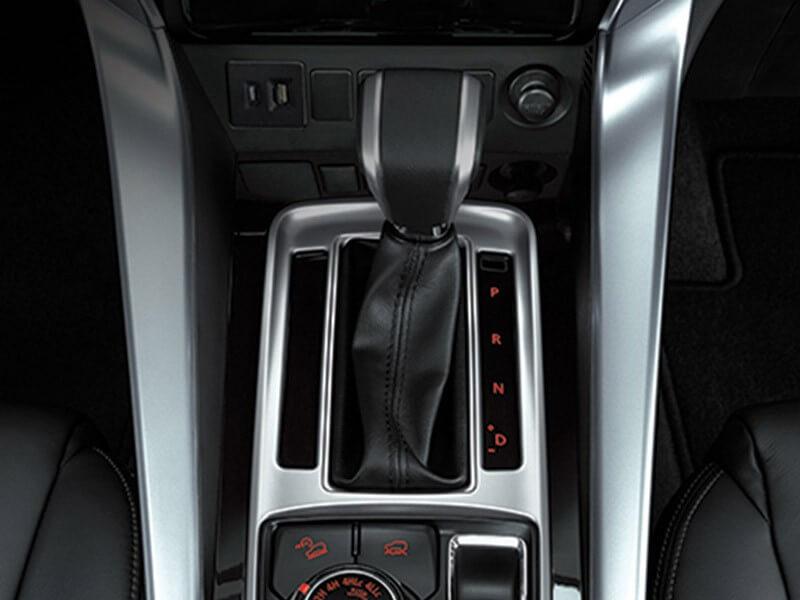 Mitsubishi Pajero Sport Rockford Fosgate-transmission
