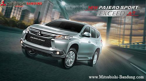 Spesifikasi Mitsubishi Pajero Sport Exceed 4x2 AT 2018