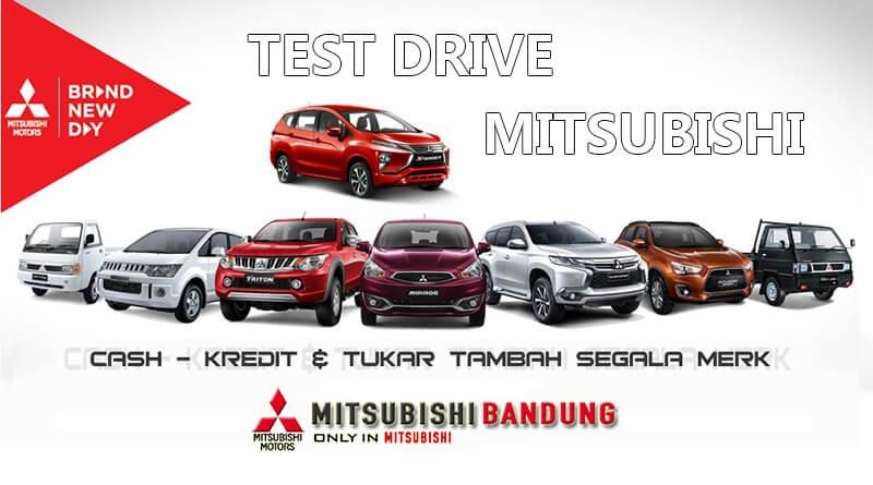 Form Test Drive Mitsubishi Bandung