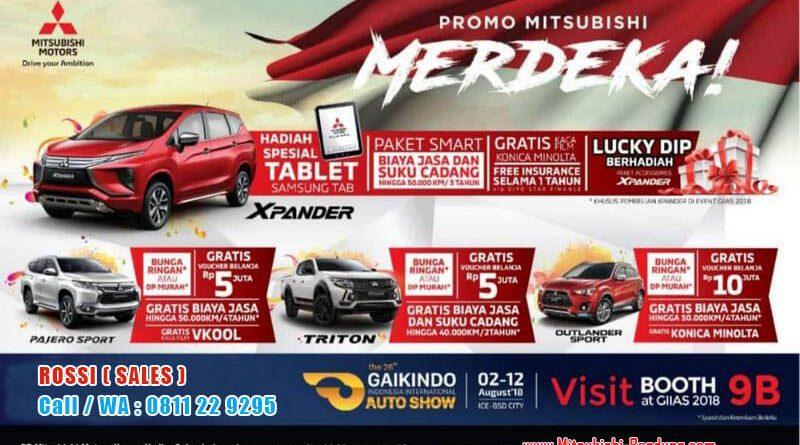 Promo Merdeka Mitsubishi Bandung 2018