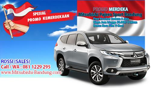 Promo Merdeka Mitsubishi Pajero Sport Bandung 2018