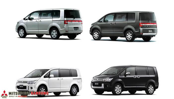 Pilihan Warna Mitsubishi Delica