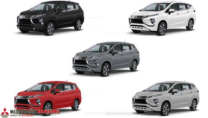 Pilihan Warna Mitsubishi Xpander