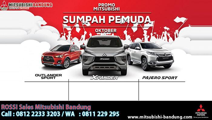 Promo Sumpah Pemuda Mitsubishi Bandung 2018