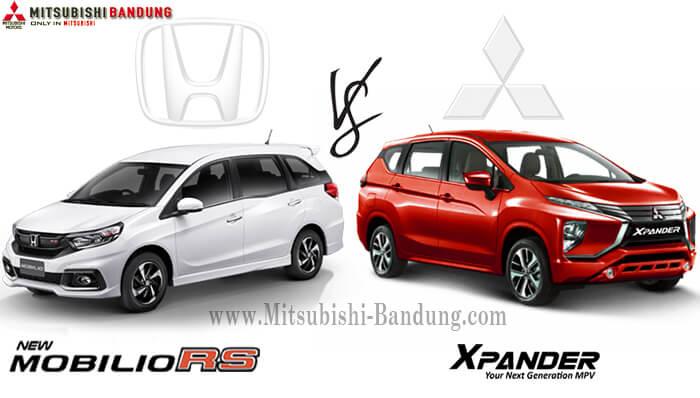 Komparasi Mitsubishi Xpander vs Honda Mobilio