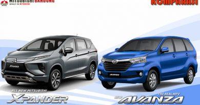 Komparasi Mitsubishi Xpander vs Toyota Avanza
