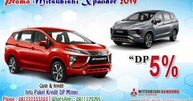 Promo Mitsubishi Xpander 2019 DP 5%