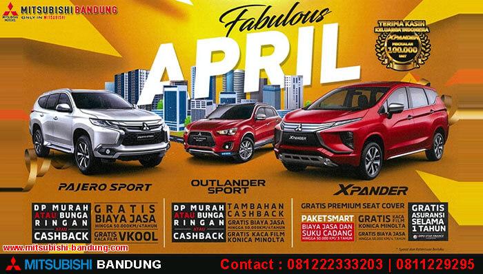 Promo Mitsubishi Bandung April 2019