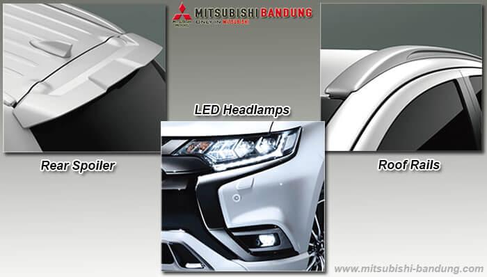 Eksterior Mitsubishi Outlander PHEV