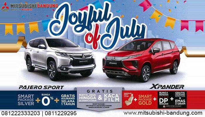 Promo Mitsubishi Xpander dan Pajero Sport Juli 2019