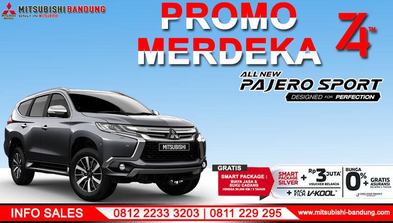 Promo MERDEKA Pajero Sport Bandung 2019