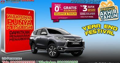 Promo Akhir Tahun Pajero Sport Bandung 2019
