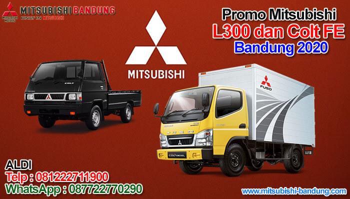 Promo Mitsubishi L300 dan Colt FE Bandung 2020
