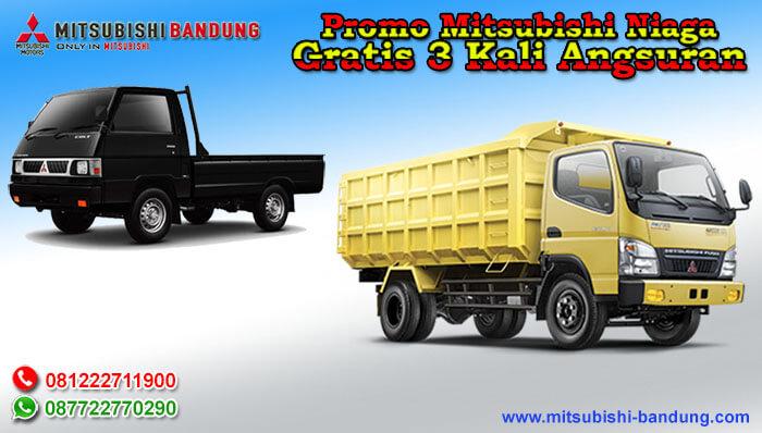Promo Mitsubishi Niaga Gratis 3 Kali Angsuran
