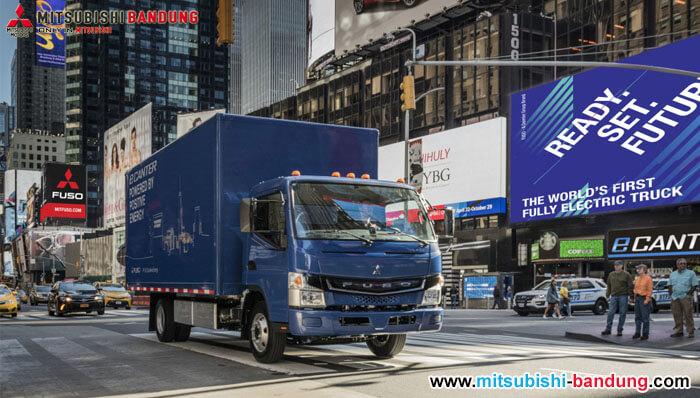 Truk Listrik Mitsubishi Fuso Menampakan Diri