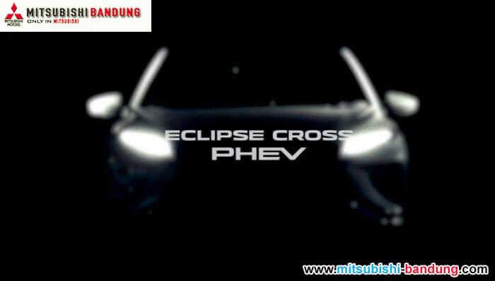 Teaser Mitsubishi Eclipse Cross Facelift Tersebar