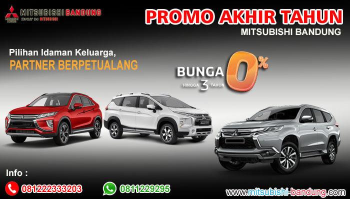 Promo Akhir Tahun Mitsubishi Bandung 2020
