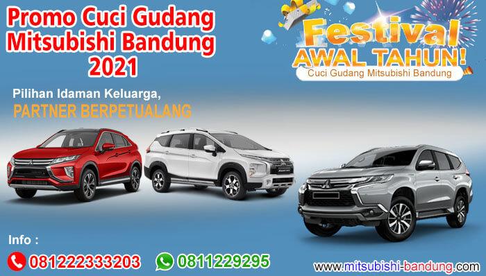 Promo Cuci Gudang Mitsubishi Bandung 2021